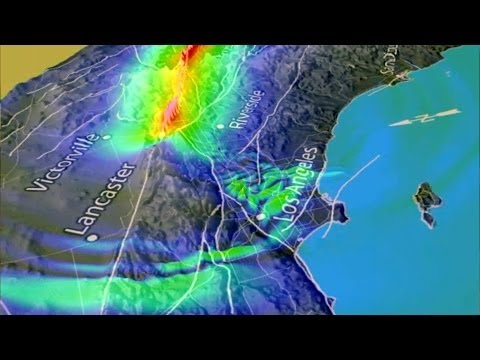 Stanford scientists use 'virtual earthquakes' to forecast Los Angeles quake