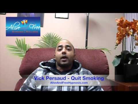 A&F Hypnosis Testimonial: Vick Persaud - Quit Smoking