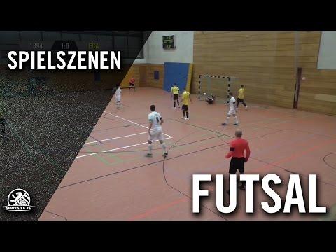 Achtzehnvierundneunzig - FC Arsenal Berlin (Finale, Futsal Pelada Berlin-Liga) - Spielszenen | SPREEKICK.TV