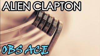 Alien Clapton coil намотка на OBS Ace / Vape Nyash