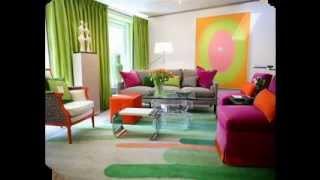Creative Colorful living room ideas