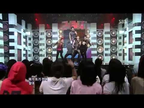 [SBS] 인기가요  2PM - hands up (0703)