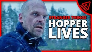 Why Hopper's Stranger Things 4 Teaser Reveals More Than You Think! (Nerdist News w/ Dan Casey)