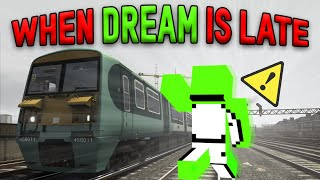 When Dream Is Late For His Train (Insane Parkour)