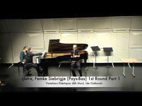 Ijlstra, Femke Siebrigje (Pays-Bas) 1st Round Part 1