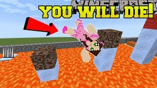 Minecraft: YOU WILL DIE!!! (WORLD RECORD HARDEST PARKOUR!!) Custom Map [2]