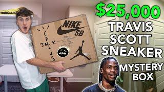 Unboxing A $25,000 TRAVIS SCOTT Sneaker Mystery Box...
