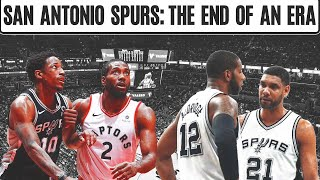 END OF AN ERA? The San Antonio Spurs Must Forget Their Past to Become Contenders Again
