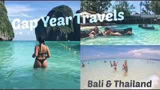 GAP YEAR TRAVELS | BALI & THAILAND 🌊