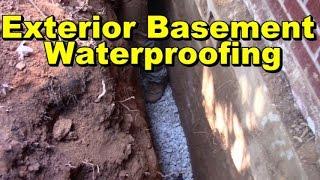 Basement Waterproofing Exterior, How to Waterproof Basement Wall