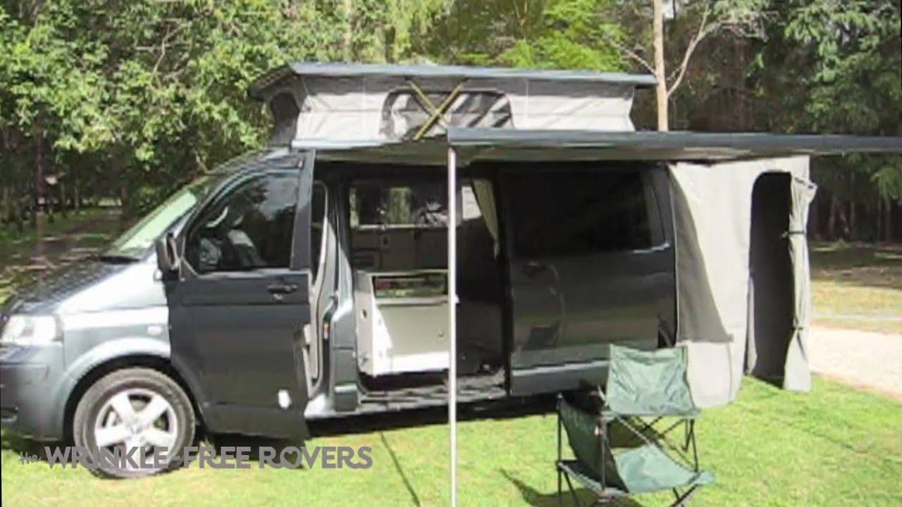 vw t5 transporter campervan youtube. Black Bedroom Furniture Sets. Home Design Ideas