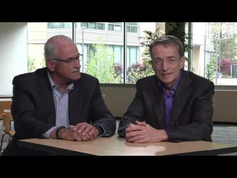 In this short video, Pat Gelsinger, CEO of VMware and Robert LeBlanc, SVP of IBM Cloud, discuss how the two companies are expanding their Cloud partnership with new desktop services. By running Horizon Air on the IBM Cloud, the two companies are giving mobile users the flexibility to securely access applications and data from any device, anywhere at anytime.
