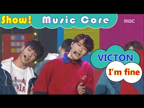 [HOT] VICTON - I'm fine, 빅톤 - 아무렇지 않은 척 Show Music core 20161126