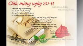 Loi chuc 20/11-Tuyển Tập Những Lời Chúc Hay Nhất Ngày Nhà Giáo Việt Nam