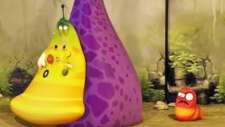 LARVA | PIZZA QUE FALTA | Película de dibujos animados | Dibujos animados para niños | WildBrain