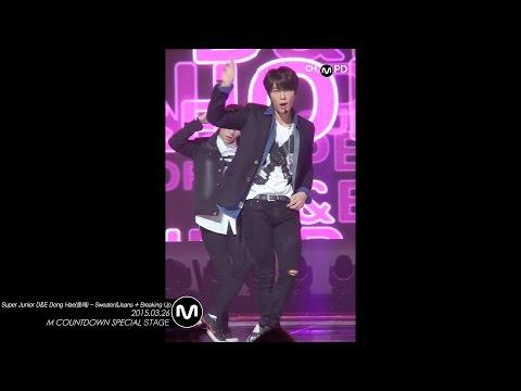 [MPD직캠] 슈퍼주니어 동해 직캠 Sweater&Jeans Breaking up Super Junior D&E DongHae Fancam Mnet MCOUNTDOWN 150326