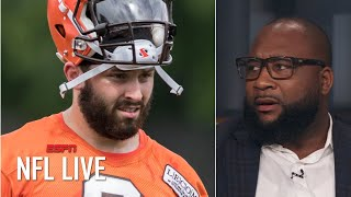 Baker Mayfield talks too much - Marcus Spears | NFL Live