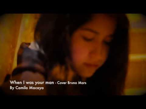 Baixar When I was your man (Bruno Mars) - Cover by Camila