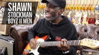 "Shawn Stockman from Boyz II Men ""Shawn Na Na"" with Tim Pierce & Nick Dias   Norman's Rare Guitars"