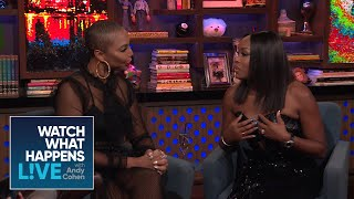 When Did Quad Webb-Lunceford Last Speak With Ex Greg Lunceford? | Married To Medicine | WWHL