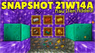 MINECRAFT 1.17 ORE BLOCK DROP REMOVED? | SNAPSHOT 21W14A (Huge Changes)