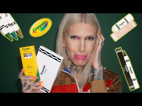 CRAYOLA MAKEUP… Is It Jeffree Star Approved?!