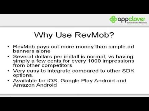 RevMob Training: Making Money With Apps -- Video 1