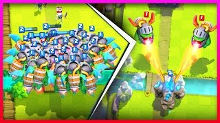 WOW!! YOU HAVE TO SEE THIS / The Inferno Dragon is INSANE in Clash Royale