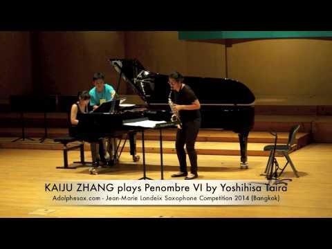 KAIJU ZHANG plays Penombre VI by Yoshihisa Taira