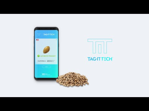 Introducing Tag-it Tech's Natural Tracking System (NTS®) for seeds. Watch how the NTS® system scans and authenticates seeds in seconds using a cell phone.