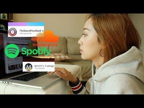 🎧 취향저격 노래 찾아내는 꿀팁 🎧ㅣ 해외음원어플 Spotify & 유튜브 음악채널 추천 &  Soundcloud 사용팁
