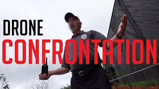 KICKED-OUT for flying a Drone - (Private Property drone law confusion) - KEN HERON