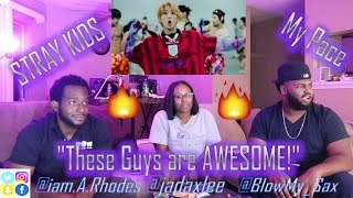 """GROUP REACTION TO K-POP!!! ( Stray Kids """"My Pace"""" M/V ) *FUNNY REACTION*