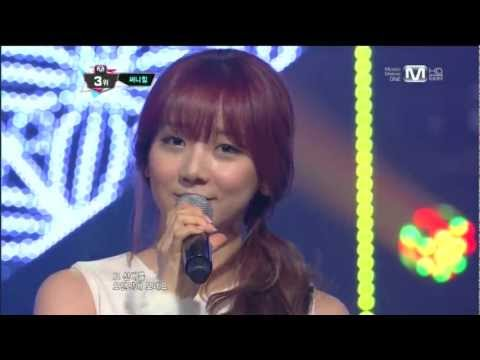 써니힐_Goodbye to romance(Goodbye to romance by Sunny Hill@Mcountdown 2013.1.17)