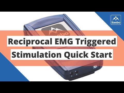 Reciprocal EMG Triggered Stimulation (RETS) Quick Start