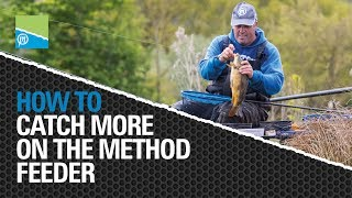 Video thumbnail for How To Catch MORE on the Method Feeder! Preston Innovations Match Fishing Videos