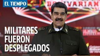 Maduro dice no tener 'miedo a un combate militar' en Venezuela