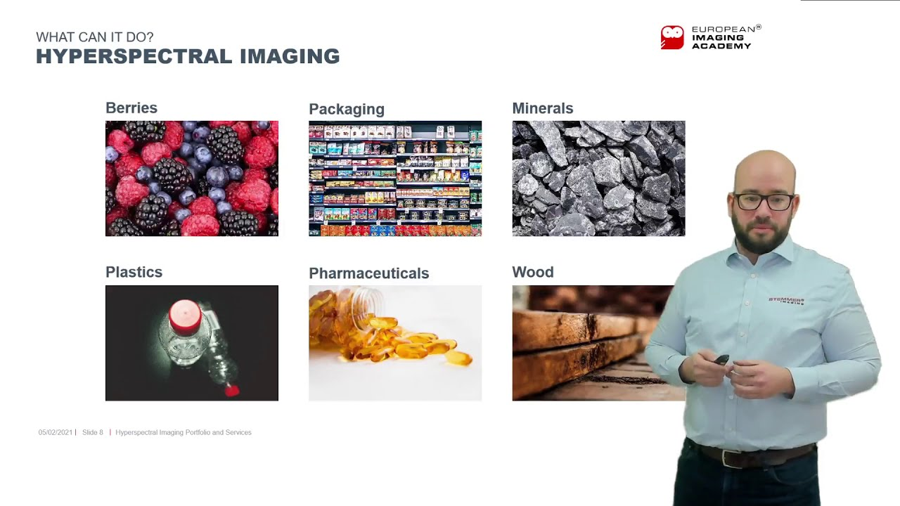 Hyperspectral imaging portfolio and application services