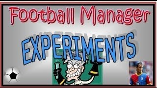 Football Manager Experiments: Team of Chamakhs