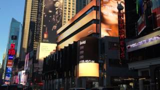 Morgan Stanley's New LED Signage in TImes Square
