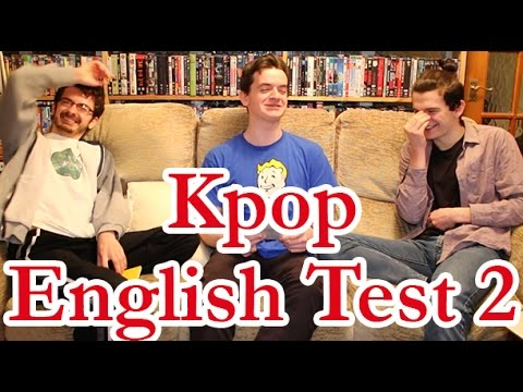 Kpop English Test 2 | KpopSteve