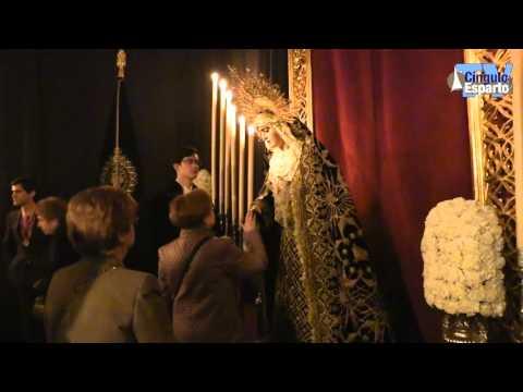 Besamanos y Besapiés de la Hermandad del Santo Entierro