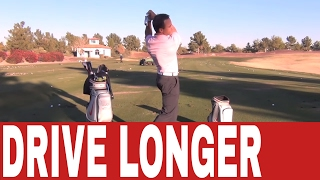 Martin Chuck | Hitting Your Driver Longer - Crack The Whip | Tour Striker Golf Academy