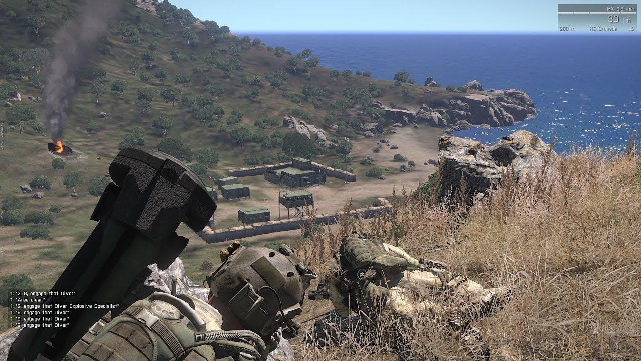 ARMA 3 - Destroying vehicles - YouTube