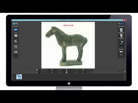 Shutter Stream Photography Software - Annotate & Send Feature