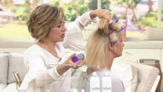 Calista MagicStylers Heated Self- Grip Rollers- Short or Long on QVC
