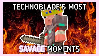 Technoblade's most savage moments in 10 minutes