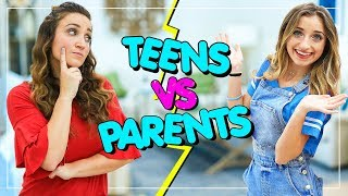 Teens vs Parents...Who's Smarter?! |  BTB 64