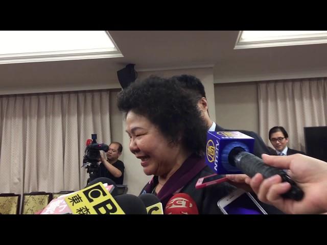 影音/任蘇貞昌競總主委?陳菊:政績就是最好的助選