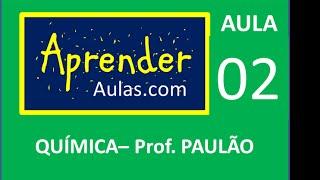 QU�MICA - AULA 2 - PARTE 1 - ATOM�STICA:DIAGRAMA DE LINUS PAULING. �ONS
